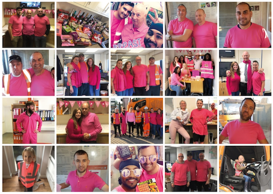 GBN hosts 'Wear it Pink' charity day