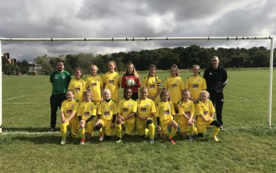 GBN sponsors Great Wakering Colts Girls